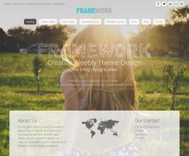 Framework Theme customizable area