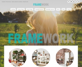 Framework Theme customizable area