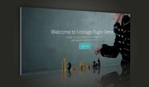 Footage Video Header Plugin