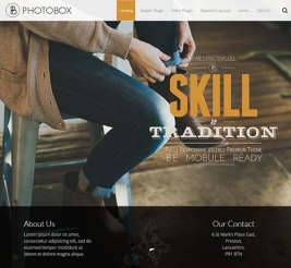 Photobox Responsive Theme