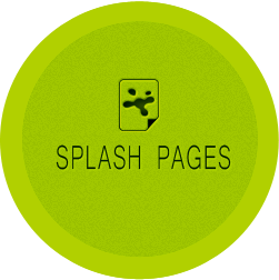 Weebly Splash Pages