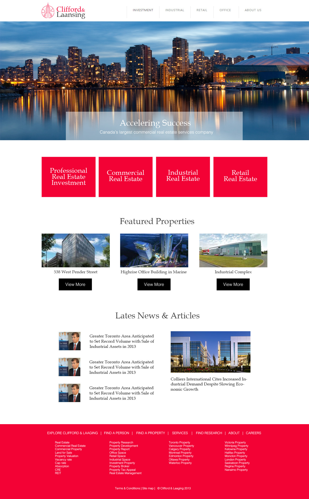 Weebly Templates & Themes for Real Estate & Investments