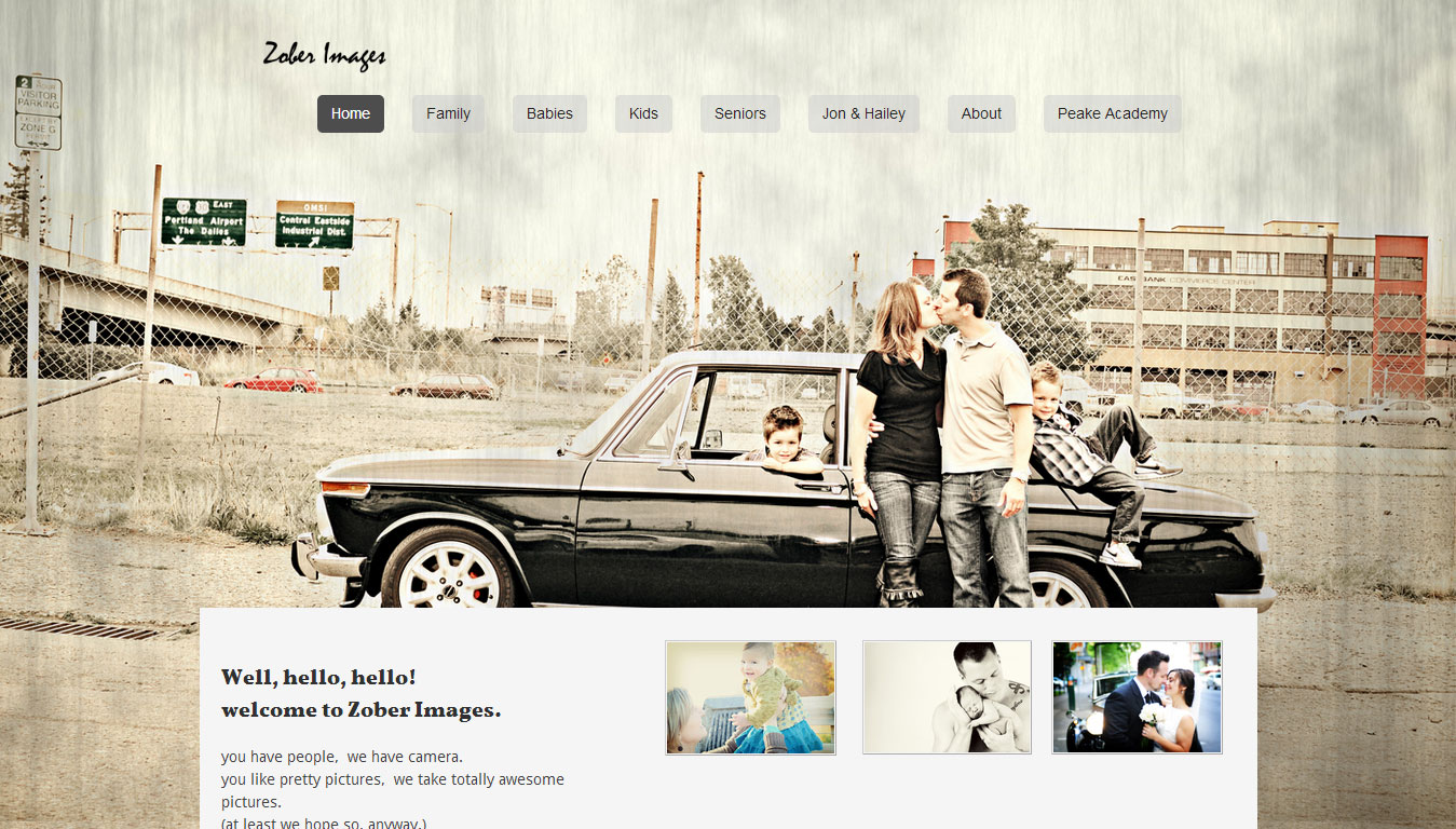 Weebly Templates for Photography Designers Artists Portfolio