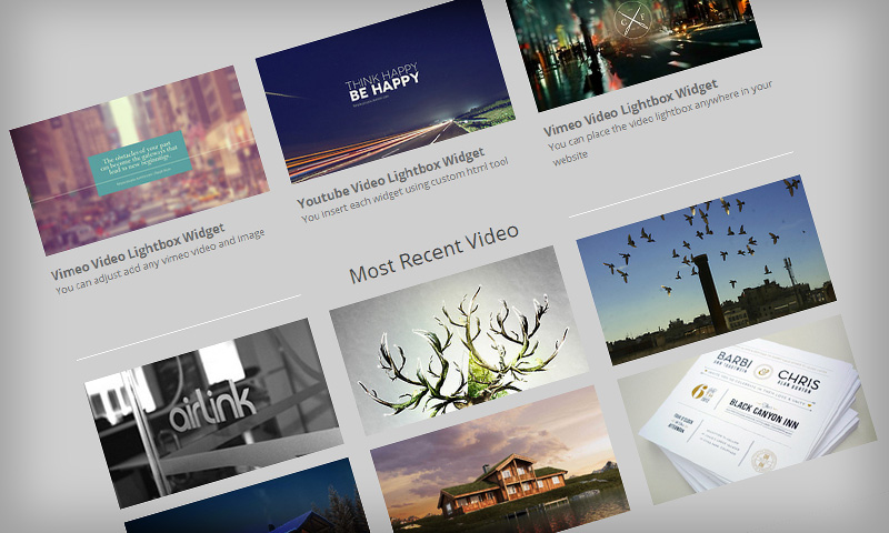 Video Lightbox Widget | Premium Weebly Templates and Weebly Themes
