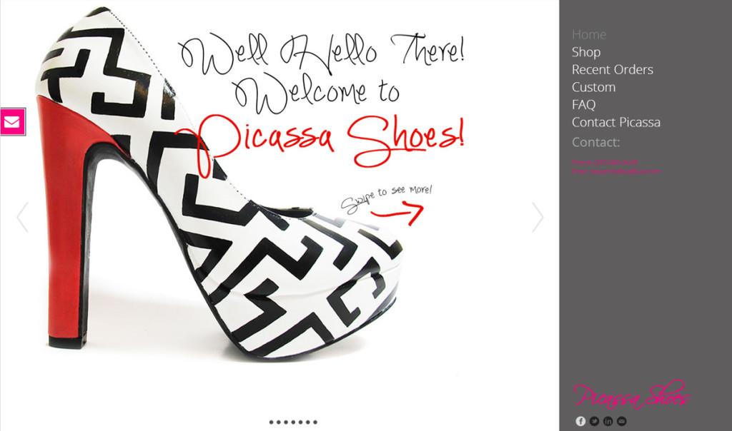 Picassa shoes (Showcase)